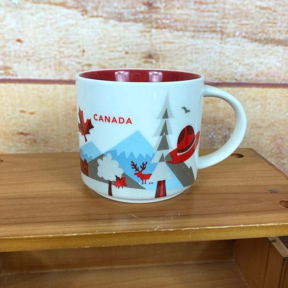 Starbucks You Are Here Collection Mug Canada 14 oz